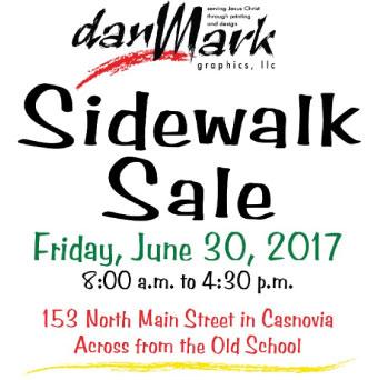 4th Annual Sidewalk Sale